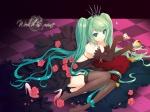 Konachan.com - 48876 garter_belt hatsune_miku twin_tails vocaloid