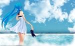 Konachan.com - 48901 beach hatsune_miku sky vocaloid