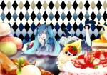 Konachan.com - 48903 cake hatsune_miku vocaloid