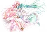 Konachan.com - 48905 hatsune_miku megurine_luka vocaloid