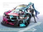 Konachan.com - 48907 car hatsune_miku vocaloid