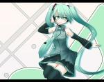 Konachan.com - 49099 hatsune_miku headphones necktie twintails vocaloid