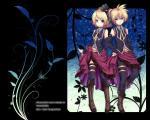 Konachan.com - 49181 kagamine_len kagamine_rin vocaloid