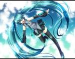 Konachan.com - 49880 chirota hatsune_miku thighhighs vocaloid