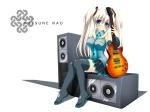 Konachan.com - 50832 guitar hatsune_miku mabinogi nao vocaloid white
