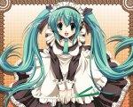 Konachan.com - 52669 hatsune_miku maid vocaloid
