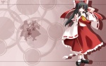 Konachan.com - 56060 hakurei_reimu japanese_clothes kochiya_sanae miko ribbons touhou
