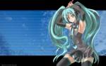 Konachan.com - 54747 blue_eyes blue_hair hatsune_miku long_hair smile thighhighs tie twintails vocaloid