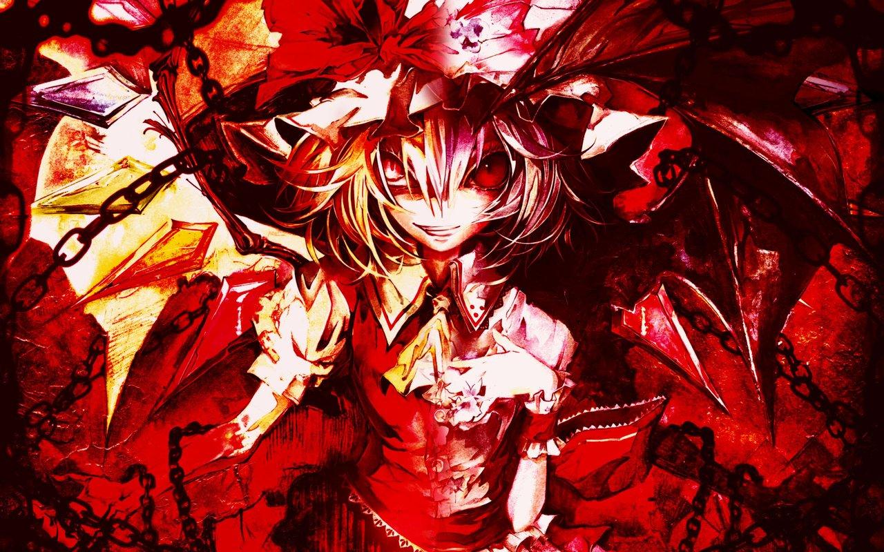 touhou flandre scarlet wallpaper - photo #9