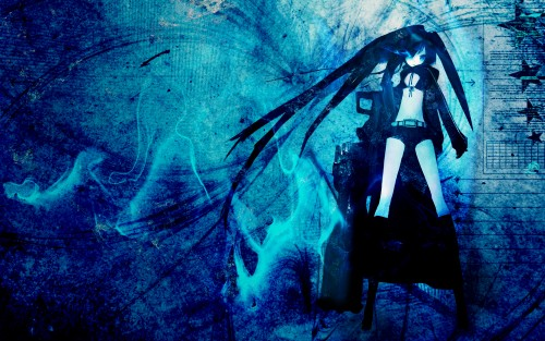 black rock shooter. that Black Rock Shooter