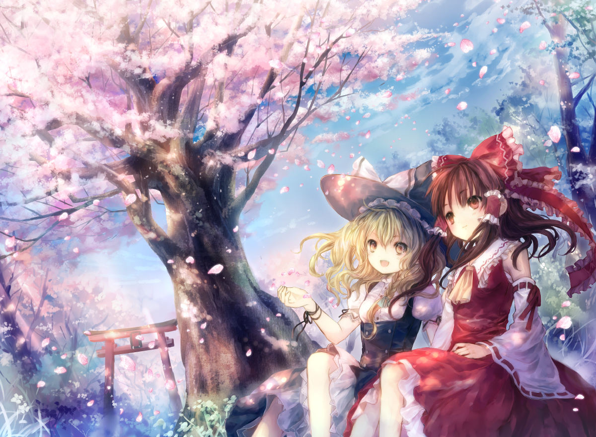 Touhou Wallpaper Pack 8 Randomness Thing