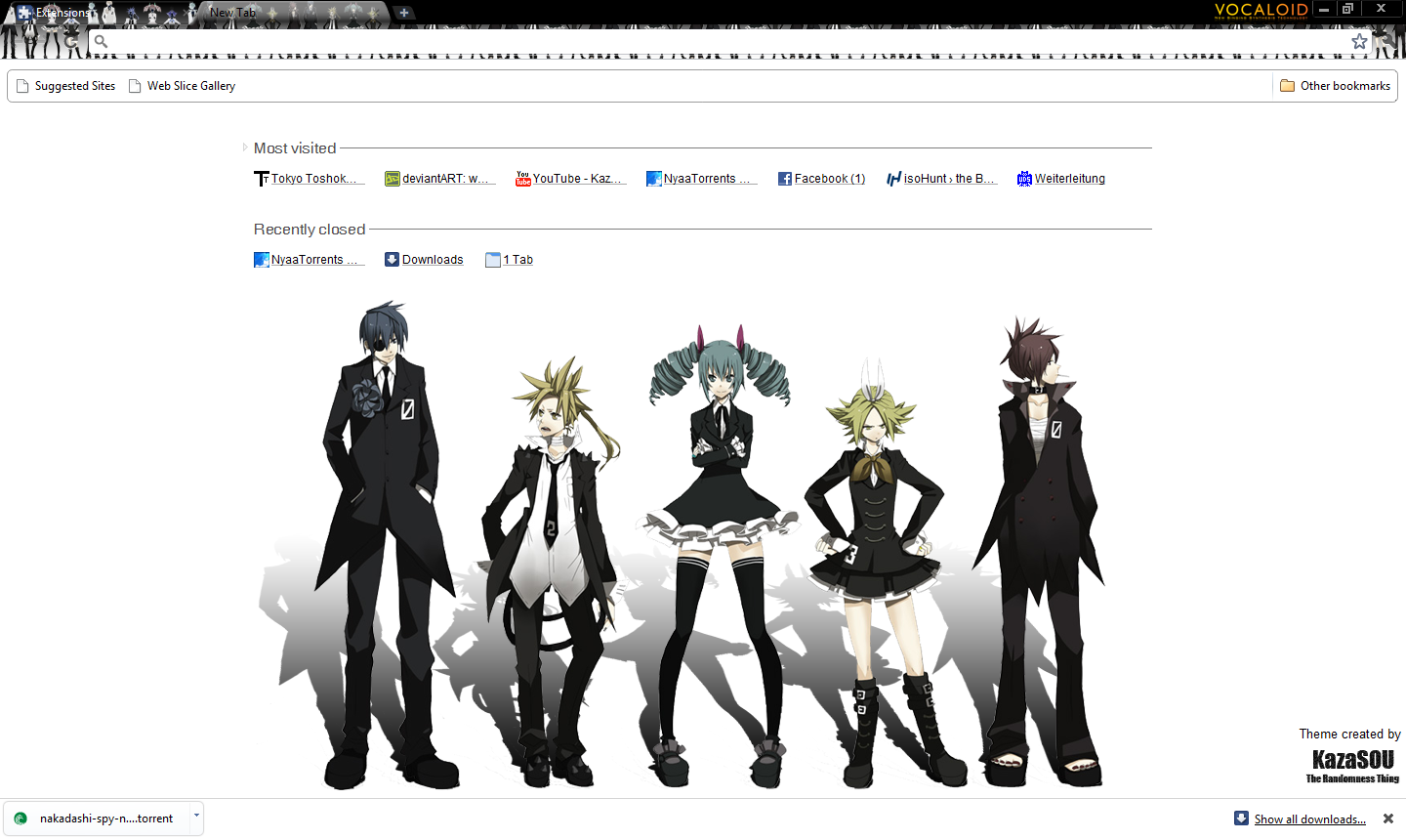 Google gallery themes chrome