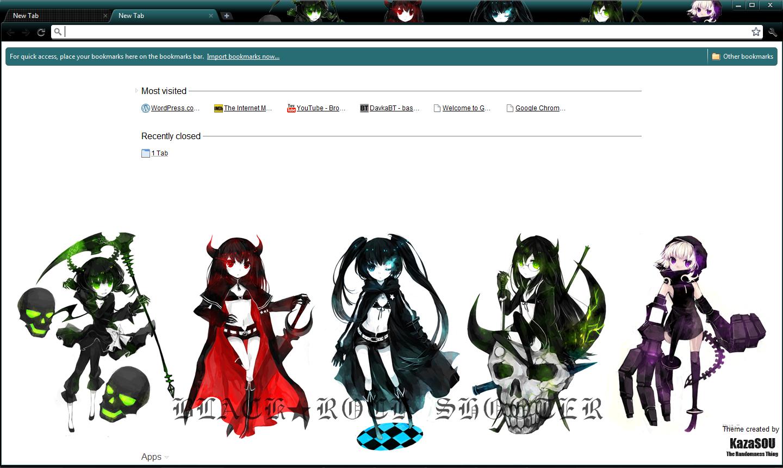 Google chrome themes in black - Skin Name Black
