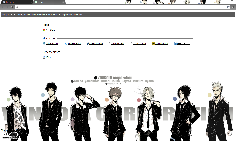 Google themes black and white - Skin
