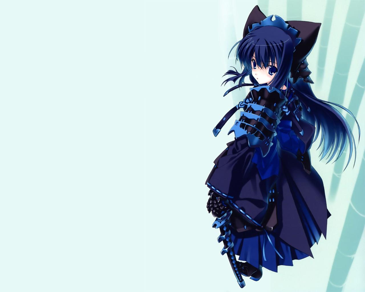 Anime wallpapers pack 95 - Anime blue girl wallpaper ...