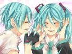 Konachan.com - 77109 hatsune_miku hatsune_mikuo vocaloid
