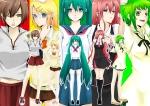 Konachan.com - 77878 gumi hatsune_miku kagamine_rin lollipop megurine_luka meiko vocaloid