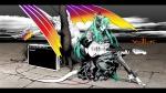 Konachan.com - 78255 dragon guitar hatsune_miku vocaloid