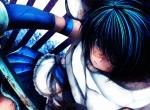 Konachan.com - 96932 blood kana_toto mahou_shoujo_madoka_magica miki_sayaka sword weapon