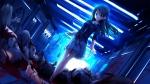 Konachan.com - 97469 akizuki_tsukasa aqua blood game_cg machimura_saori weapon