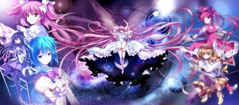 Konachan.com - 102596 akemi_homura kaname_madoka kyuubee mahou_shoujo_madoka_magica miki_sayaka pico sakura_kyouko tomoe_mami