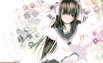 Konachan.com - 75380 brown_eyes brown_hair fuyuno_haruaki headphones long_hair