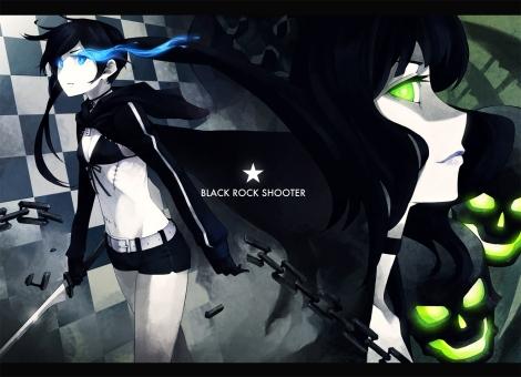 Konachan.com - 75699 black_rock_shooter kuroi_mato takanashi_yomi