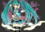 Konachan.com - 78748 aqua_eyes aqua_hair hatsune_miku thighhighs twintails vocaloid