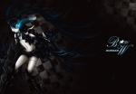 Konachan.com - 79714 black_rock_shooter crossover kuroi_mato mobile_suit_gundam