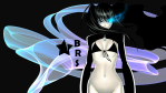 Konachan.com - 87056 black_hair black_rock_shooter blue_eyes bra kuroi_mato nopan underwear
