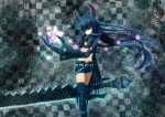 Konachan.com - 89178 black_gold_saw black_rock_shooter