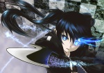 Konachan.com - 95882 black_rock_shooter kuroi_mato sword weapon