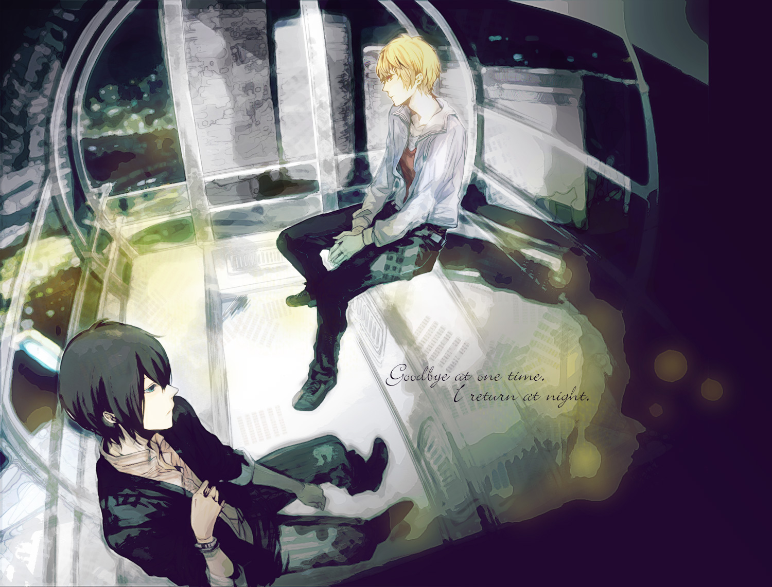 http://kazasou.files.wordpress.com/2011/08/konachan-com-76456-black_hair-blonde_hair-blue_eyes-durarara-heiwajima_kasuka-heiwajima_shizuo-short_hair-yellow_eyes.jpg