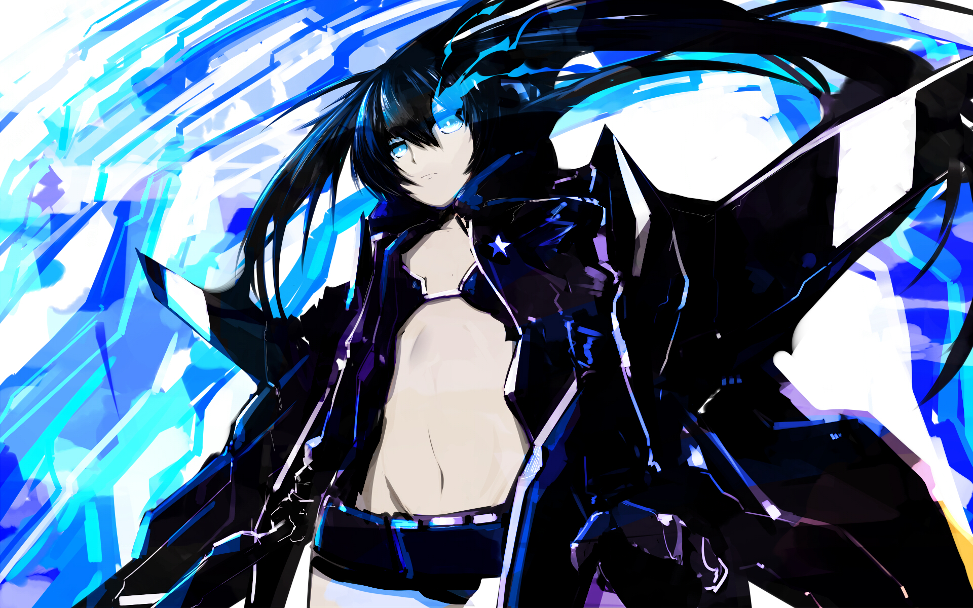 black rock shooter wallpaper pack 4