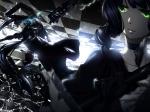 Konachan.com - 112455 black_rock_shooter kuroi_mato takanashi_yomi yukinosetsu