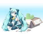 Konachan.com - 80432 animal_ears catgirl hatsune_miku mani tail thighhighs vocaloid