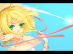 Konachan.com - 80781 blonde_hair green_eyes hat kagamine_rin vocaloid