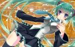 Konachan.com - 81085 hatsune_miku thighhighs tie twintails vocaloid