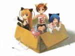 Konachan.com - 77565 animal_ears babycat catgirl gakuen_utopia_manabi_straight tagme