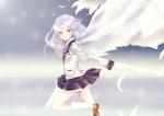 Konachan.com - 77848 angel_beats! tachibana_kanade tenshi wings