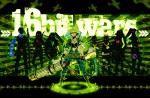 Konachan.com - 82121 green gumi gun hatsune_miku kagamine_len kagamine_rin kaito kamui_gakupo megurine_luka meiko sword vocaloid weapon