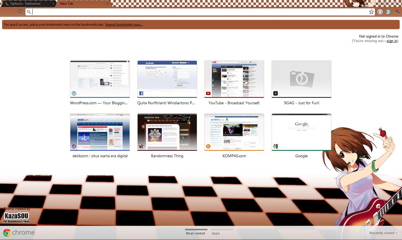 Google chrome theme itachi - Google Coolcommunity