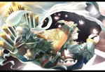 Konachan.com - 101884 akihira_fujinohara armor butterfly hat katana konpaku_youmu pink_hair saigyouji_yuyuko sword touhou weapon