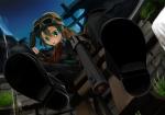 Konachan.com - 103063 aqua_eyes goggles gun kino kino_no_tabi tagme weapon