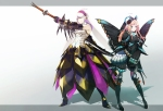 Konachan.com - 105768 barioth monster_hunter sword tujisaki urukususu weapon wings