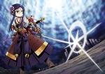 Konachan.com - 106136 armor japanese_clothes katana sekaiju_no_meikyuu shogun_(sekaiju) sword weapon