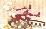 Konachan.com - 88177 chibi hatsune_miku kagamine_len kagamine_rin kaito megurine_luka meiko vocaloid