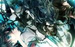 Konachan.com - 131280 black_rock_shooter chain kuroi_mato tagme_(artist) takanashi_yomi