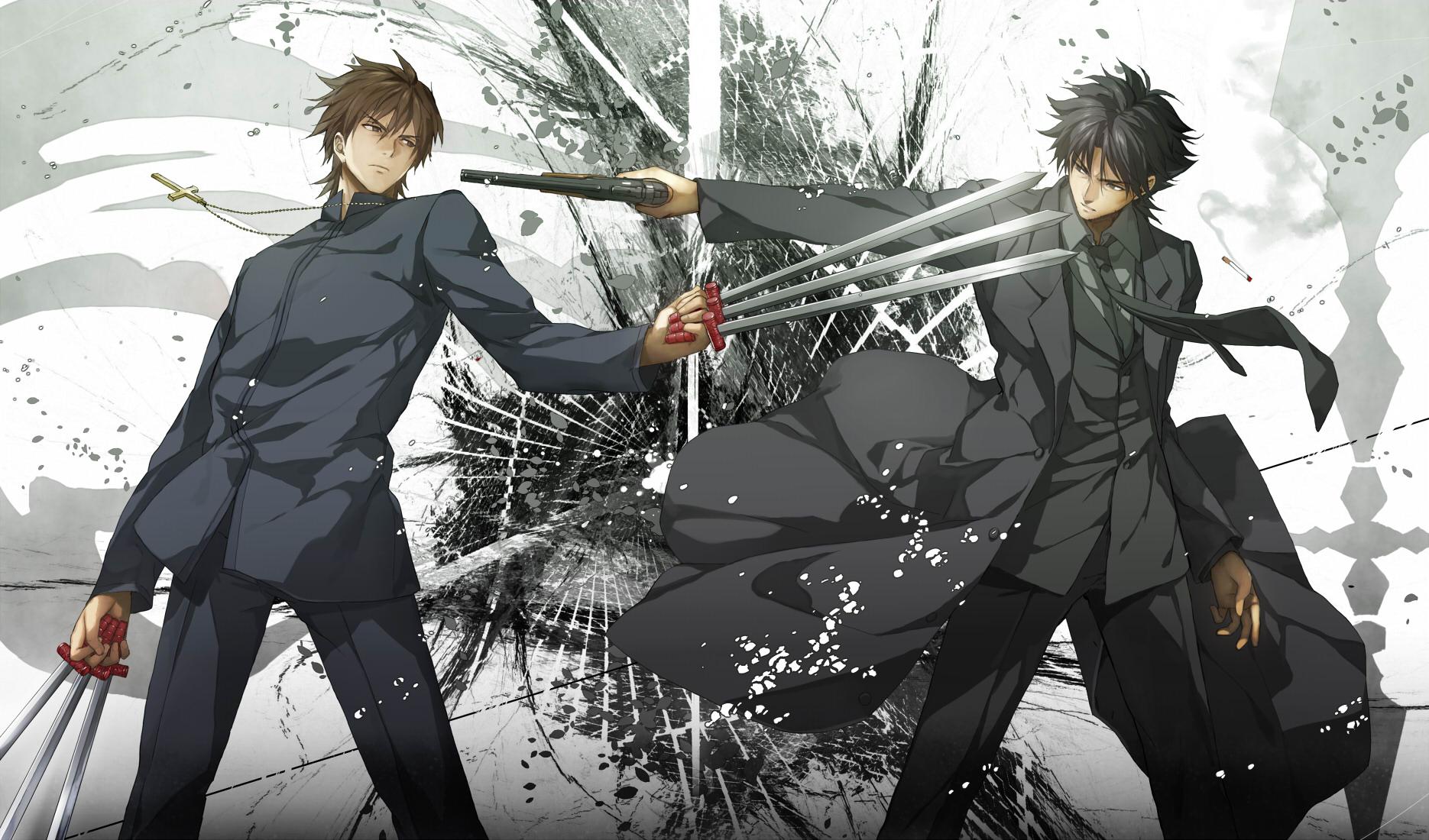 Anime Fight Characters 0 1 : Wallpaper of the week emiya kiritsugu kotomine kirei