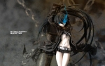 Konachan.com - 48133 black_rock_shooter figure kuroi_mato scar